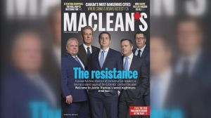 Scott Moe makes MacLean's cover appearance