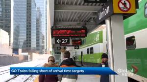 GO Trains fall short of arrival time targets
