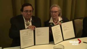 Canada, Blood Tribe sign memorandum of understanding on reconciliation