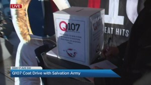 The Salvation Army is in the final days of it's annual coat drive