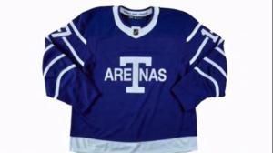 Toronto Maple Leafs commemorate NHL's 100-year history