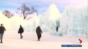 Edmonton's ice castle opens Friday