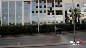 Bomb blast rocks Greek TV station