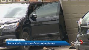 Brampton father facing criminal charges after allegedly backing truck over wife, son