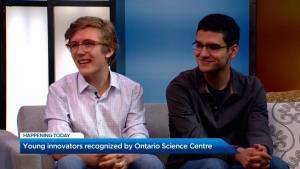 Young innovators recognized by Ontario Science Centre