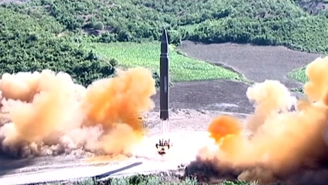 North Korea fires missile towards Japan