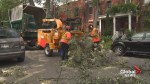 NDG cleans up after intense storm