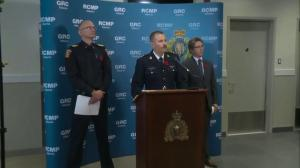 RCMP Supt. Kalist says a 21-year-old man died following the blast