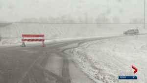 Motorists dig out from snowstorm