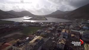 French government drones captures extent of Irma damage on French side of Saint Martin