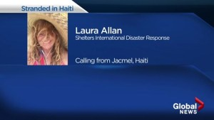 A Kelowna woman closer to fleeing violence-ravaged Haiti