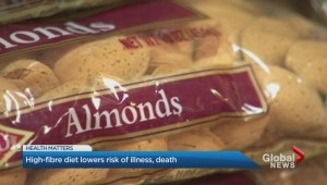 High-fibre diet lowers risk of illness, death