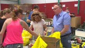 Target Hunger helps replenish shelves at Lethbridge food banks
