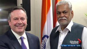 Fallout from opposition leader Jason Kenney's visit to India