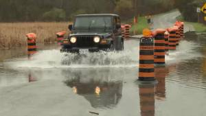 Kingston area continues on flood watch (02:06)
