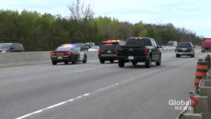 Police respond to serious collision on Hwy. 400 south of Barrie (00:27)