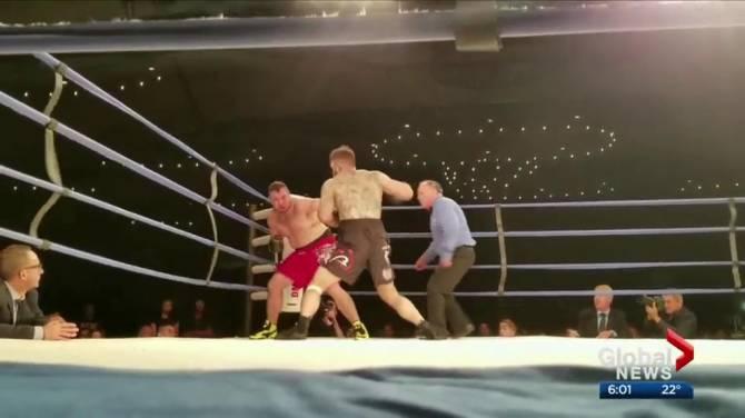 Boxer Dies In Ring June