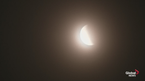 Timelapse of lunar reveal following total eclipse