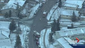 Two children injured in northwest Calgary hit and run