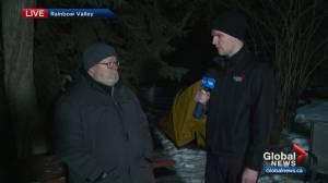Edmonton's 'freezing father' wraps up fundraiser