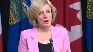 Rachel Notley says Alberta and B.C. both care about the environment