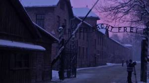 Timelapse of sunrise over Auschwitz 70 years after liberation