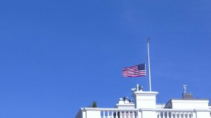 White House lowers US flag at half-staff to honour Brussels victims