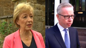 Leadsom, Gove enter race to become UK prime minister