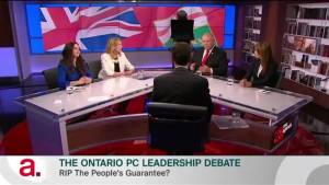 Tension-filled Ontario PC Party leadership race could be blessing in disguise: expert (01:40)