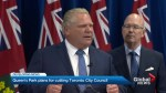Ontario government to cut council almost in half