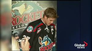 From the archives: James McEwan named captain of the Kelowna Rockets