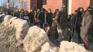 Residents protest condition of Halifax streets