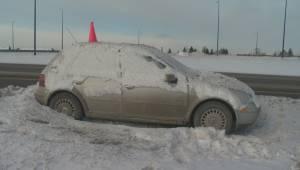 Abandoned car strikes Edmonton's imagination