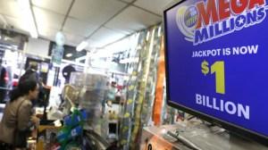 Mega Millions lottery hits US$1B jackpot
