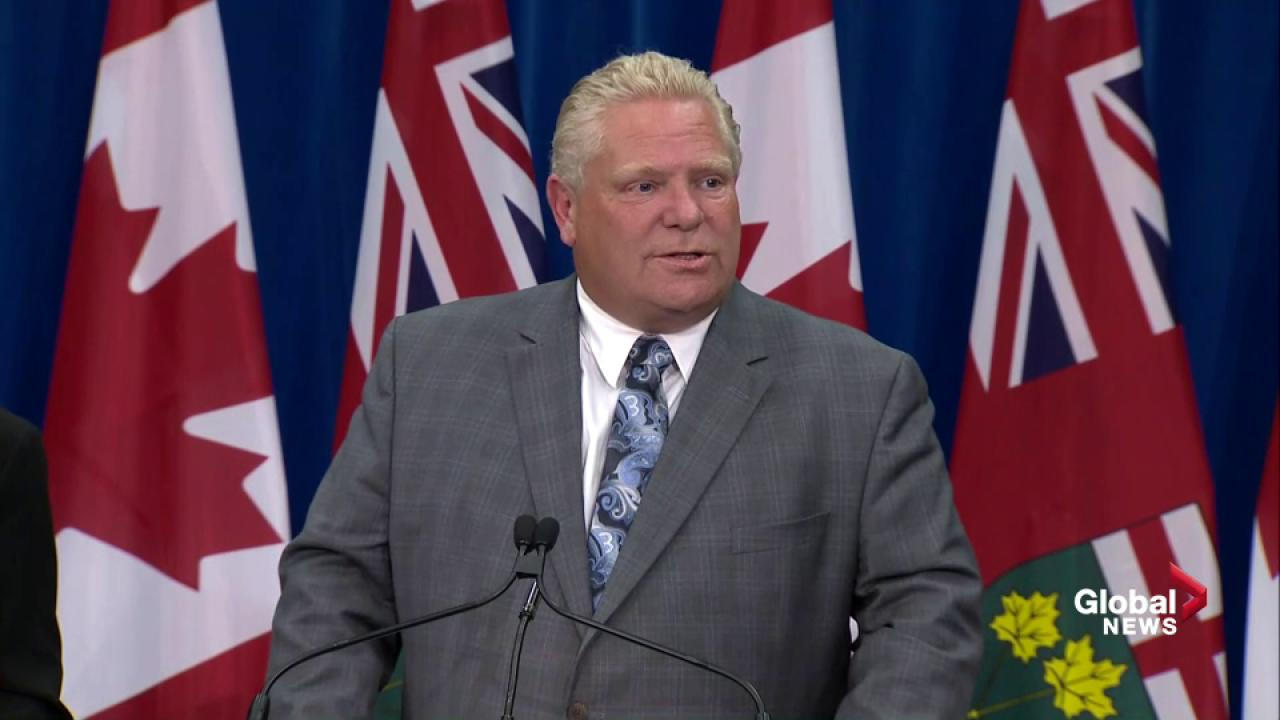Ford: Ontario scrapping cap-and-trade immediately