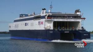 Yarmouth ferry sets out on maiden voyage