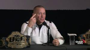 GSP formally announces his retirement from the sport of MMA