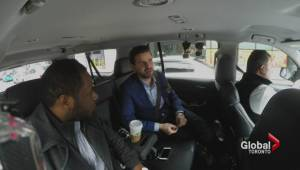 Start-ups compete for millions in investments through UberPitch (01:42)