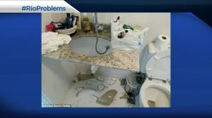 Athletes highlight accommodation issues on social media #rioproblems