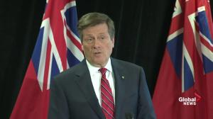 Mayor Tory views private sector as key tool in reaching affordable housing goals