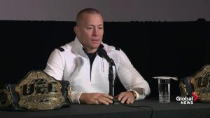 GSP on why fight with Khabib Nurmagomedov didn't come together