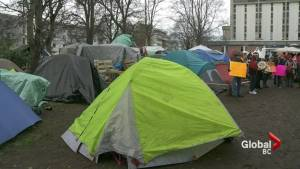 Homeless campers served eviction notice in Victoria