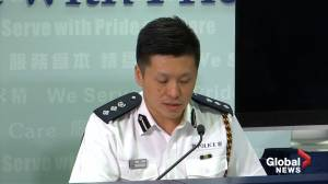 Hong Kong police applaud behaviour of Sunday protesters