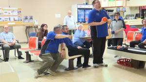 Kingston Special Olympics Bowling team