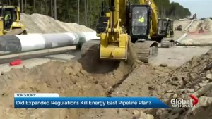 Did expanded regulations kill Energy East pipeline plan?