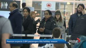 Toronto Pearson Airport expects 2.8 million holiday passengers this season