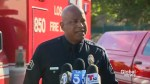 LAPD briefing on Los Angeles Trader Joe's barricade situation