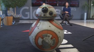 A Visit from Star Wars BB-8