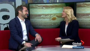 NASA scientist in Calgary talking about Europa and the search for life on Jupiter's moon