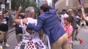 'Happy Pride Toronto': PM Trudeau marches with enthusiasm
